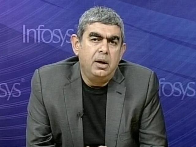 Video : Infosys CEO Vishal Sikka Explains Q2 Earnings
