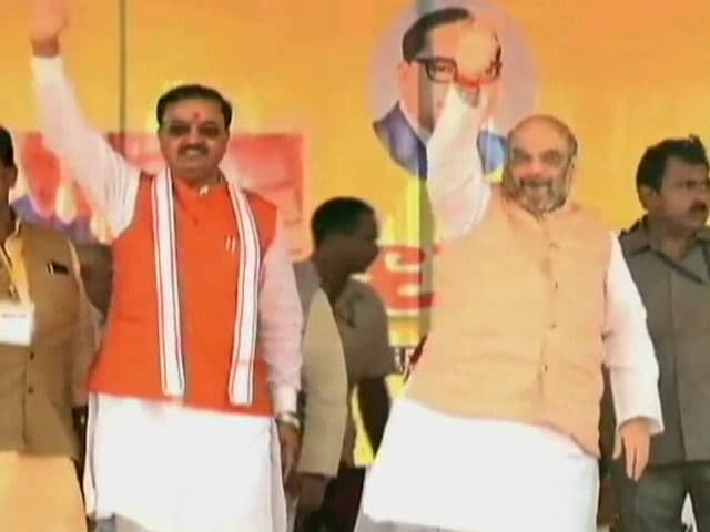 Video : BJP For Development, Pitches Amit Shah To Dalits In Uttar Pradesh