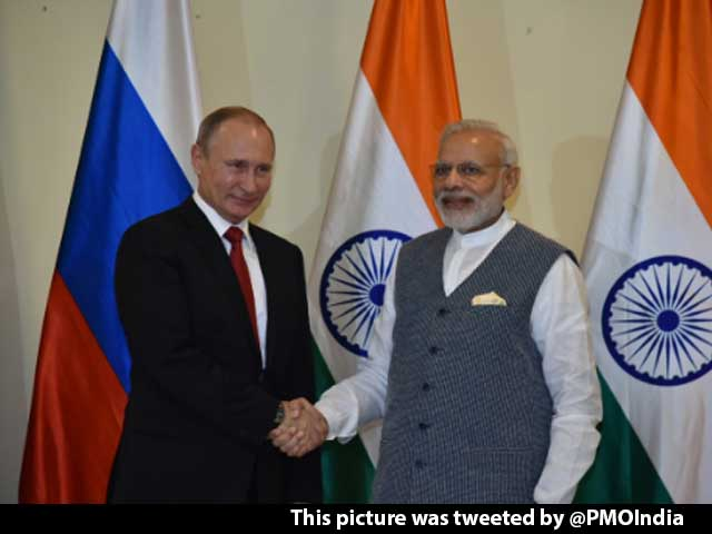 Video : 'An Old Friend Better Than Two New Friends', Says PM Modi To President Putin
