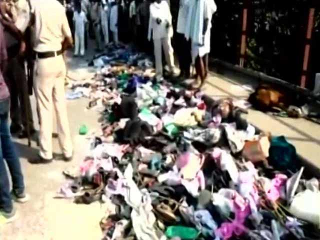 Video : 24 Dead In Stampede At Varanasi Bridge During Overcrowded Religious Event
