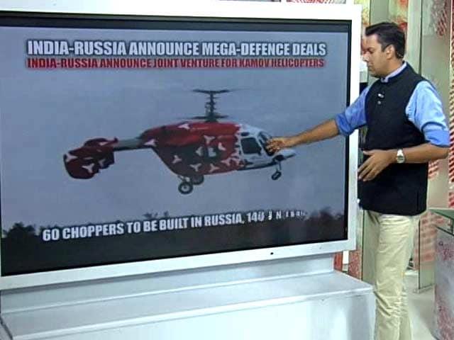 Video : India-Russia Announce Mega Defence Deals