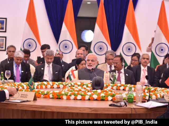 Video : PM Modi At BRICS Summit Says 'Selective Approach To Terror Won't Do'