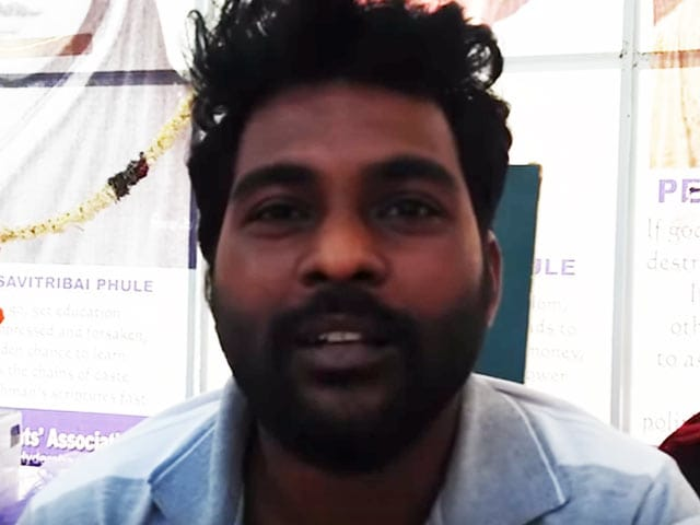 Video : 'I'm a Dalit,' Said Rohith Vemula In Video Days Before He Died