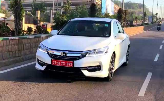 Video : First Look: New Honda Accord Hybrid