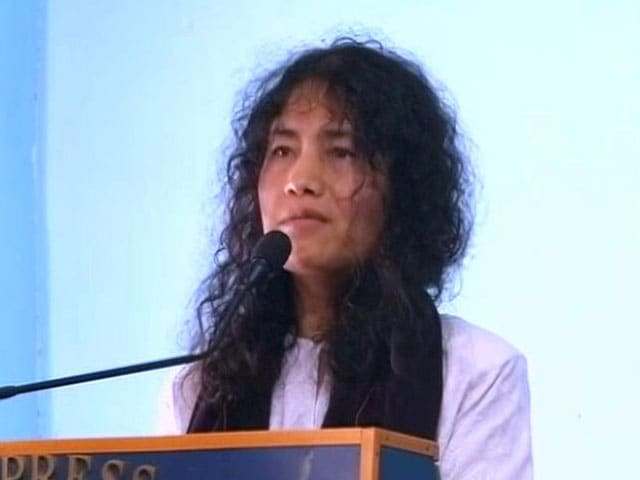 Video : Irom Sharmila Launches New Party, Will Take On Chief Minister Ibobi Singh