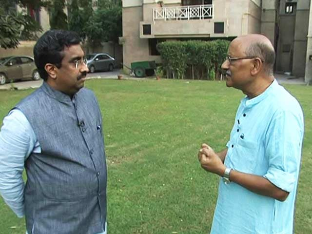 Video : BJP's Ram Madhav On What His 'Jaw For Tooth' Tweet Meant Post Uri Attack