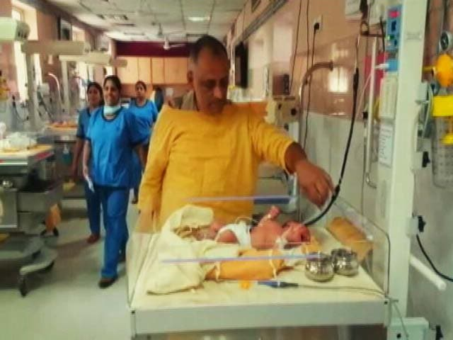 Video : Baby Swadha, Found In A Cloth Bag On Delhi Footpath, Is Police 'Property'