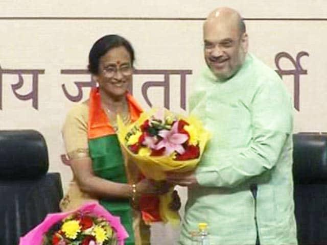 Video : बीजेपी में शामिल हुईं कांग्रेस की वरिष्ठ नेता रीता बहुगुणा जोशी