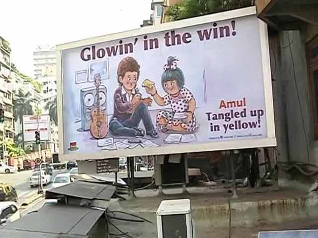 Video : The Utterly Delicious Journey Of Amul Girl