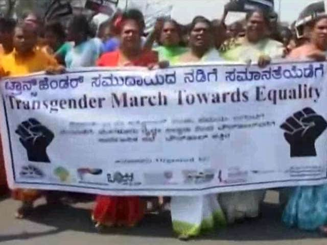 Video : Transgenders Take Out Rally In Bengaluru, Demand Rights For Community