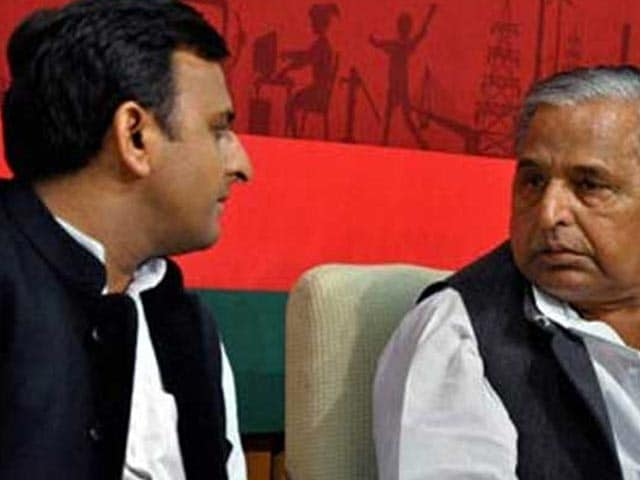 Video : All Dirty Laundry Aired In Speeches By Shivpal, Akhilesh, Mulayam Yadav