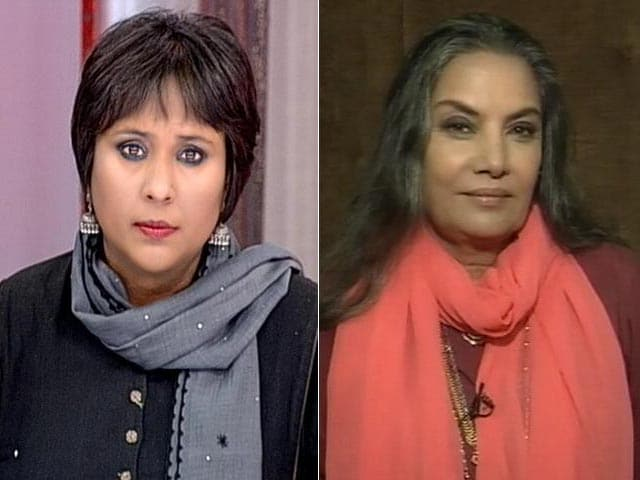 Video : Fadnavis Colluded With Raj Thackeray, They Don't Define My Patriotism: Shabana Azmi