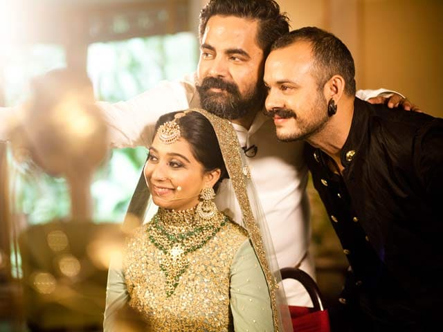 Video : Watch Sabyasachi Transform Nouseen Into A Perfect Mughal Princess