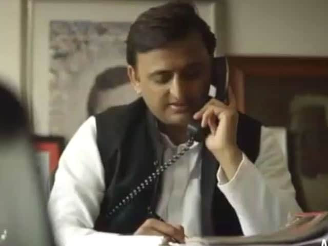 Video : The Akhilesh Yadav Show. Sneak Peek Of New Campaign Video