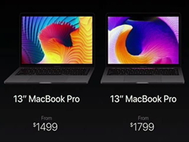 Video : MacBook Pro With 'Touch Bar' Controller, Touch ID, All-New Design Launched