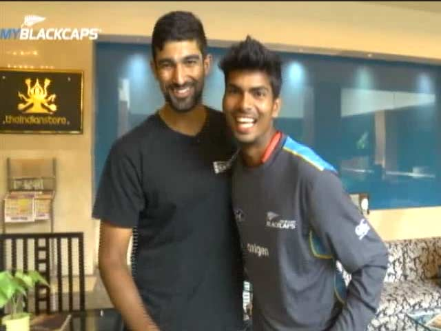 Indian Net Bowler Wins New Zealand Players' Hearts