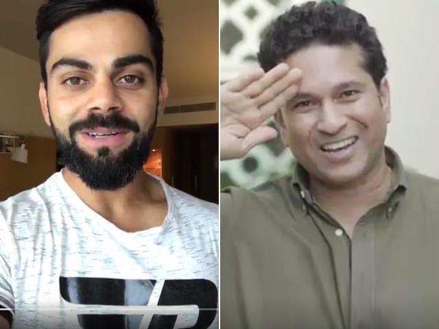 Kohli, Tendulkar, Kaif Join #Sandesh2Soldiers Campaign