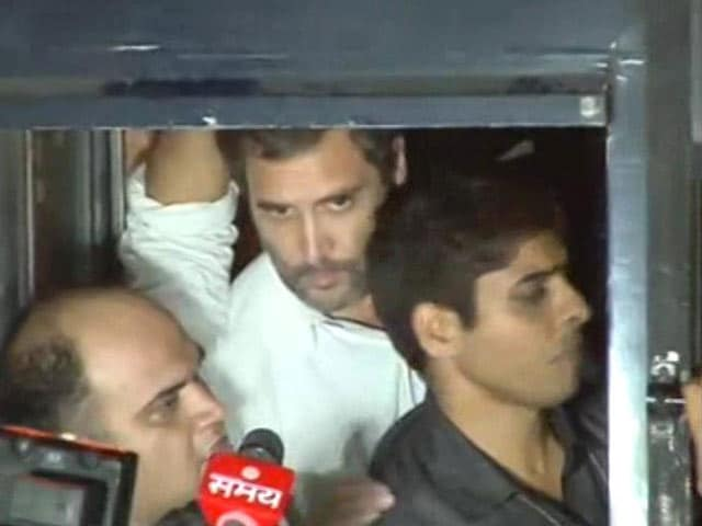Video : In Row Over Ex Soldier's Suicide, Rahul Gandhi, Arvind Kejriwal Detained