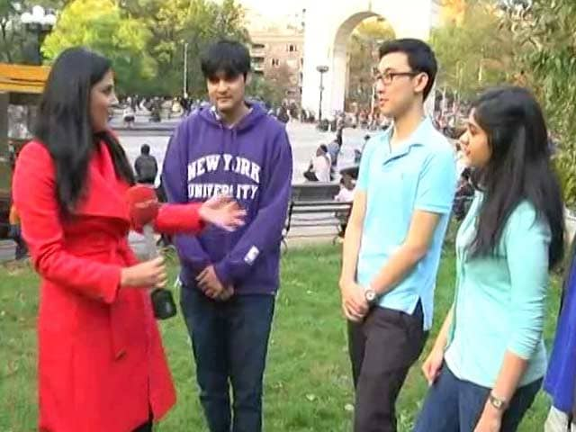 Video : Clinton Or Trump: NYU Students Tell NDTV Who They Think Will Win