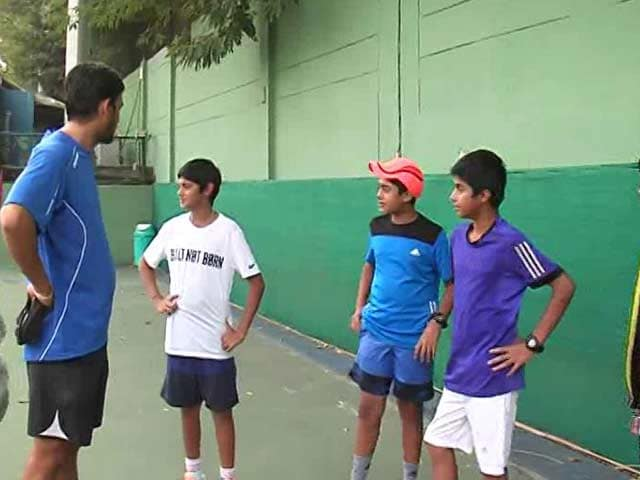 Video : Burn Fat, Not Crackers: Young Tennis Players' Plea to Delhi Citizens