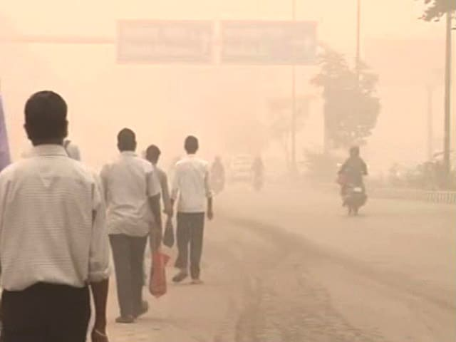 Video : Runners Dejected As Pollution Cloud Hangs Over Delhi Half-Marathon