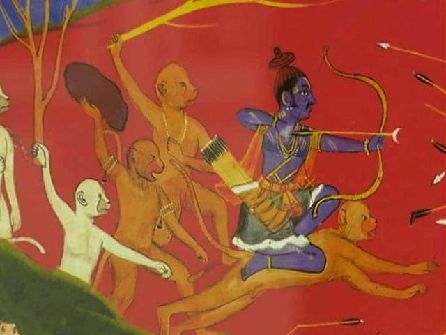 Video : Interpreting The Epic Ramayana In Visuals