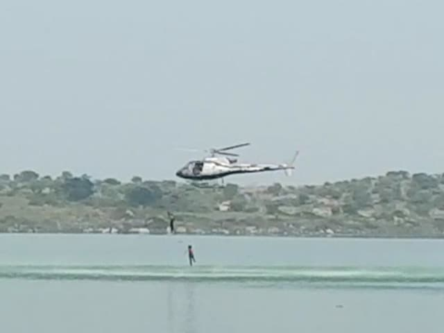 Video : 2 Dead In Kannada Film Stunt, They Jumped From Chopper Into Dam