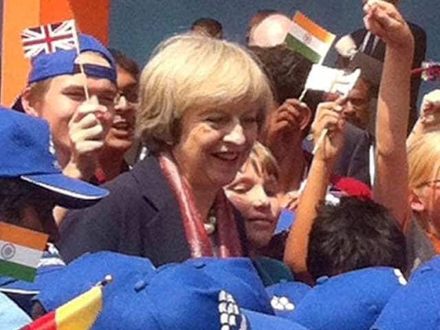 Video : Theresa May Goes Back To School On Her Day-2 Visit To Bengaluru