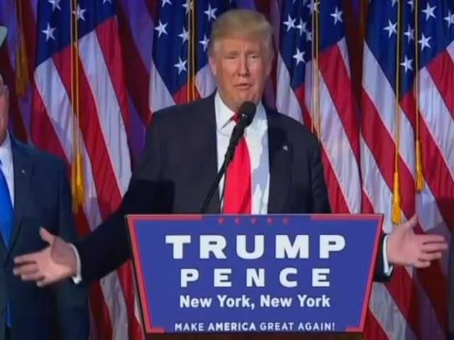 Video : 'This Was Tough': Donald Trump Thanks Family For Historic Victory
