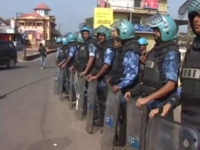 Video : Parts Of Karnataka Under Security Blanket On Eve of Tipu Jayanti