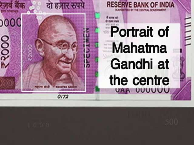 Video : With High Security Features, New 500, 2000 Rupee Notes Hard To Fake