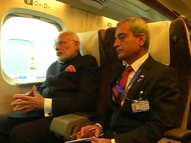Video : PM Modi, Shinzo Abe Ride On Bullet Train To 'Fast-Track' Indo-Japan Relations