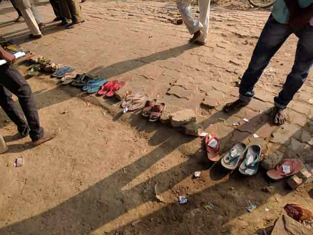 Video : At PM Narendra Modi's Adopted Village In Varanasi, Slippers For Bank Queues