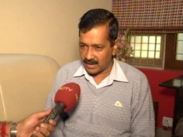 Video : BJP 'Confidantes' Knew Of Currency Ban, Converted Cash: Arvind Kejriwal