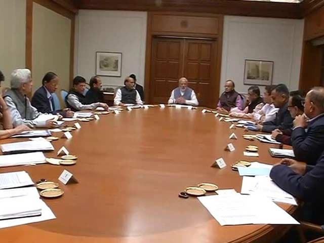 Video : PM Modi Holds Late-Night Meeting With Senior Ministers On Currency Ban