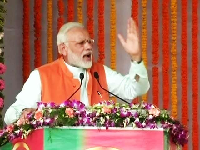 Video : Watch: 'Pandit Nehru, Your Family Attacks Me, And Yet...': PM Modi in Uttar Pradesh