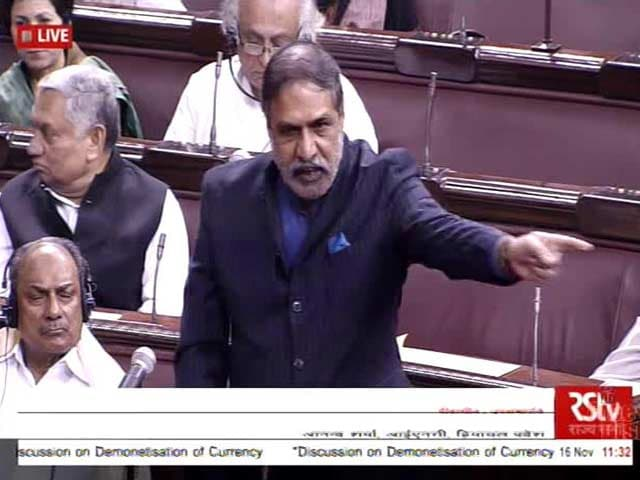 Video : 'PM, Please Explain Who Wants To Kill You': Anand Sharma In Parliament
