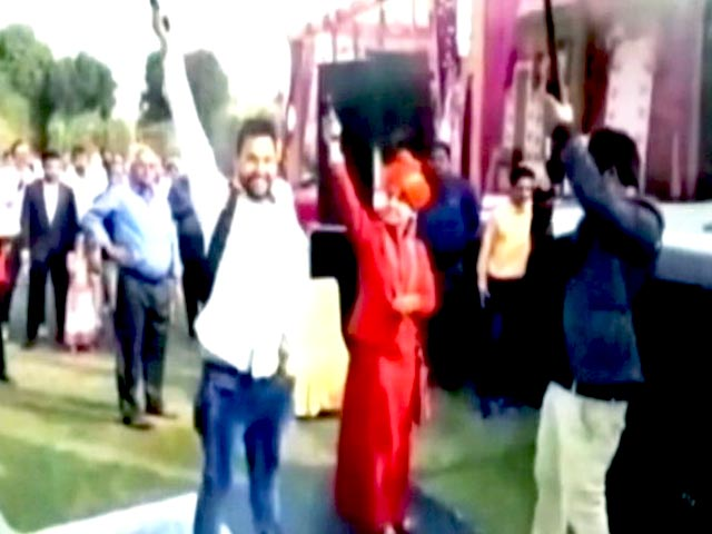 Video : Gun-Loving 'Godwoman' On Shooting Spree At Wedding Kills Groom's Aunt