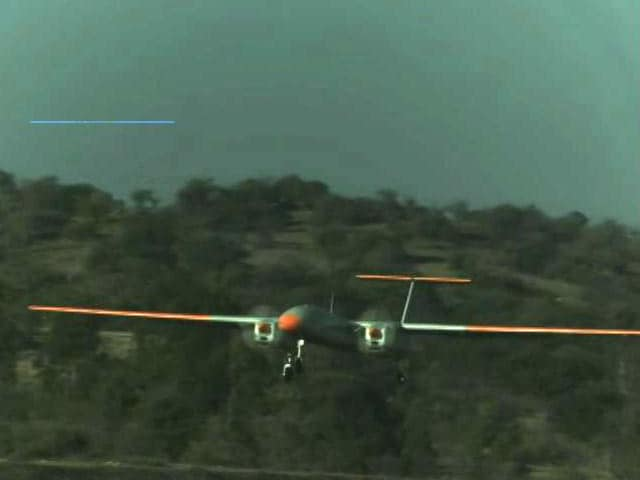Video : DRDO's Indigenous Drone Rustom-II Takes Maiden Flight