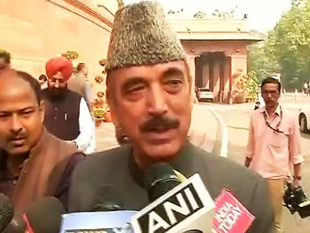 Video : You Should Apologise, Not Me, Ghulam Nabi Azad Tells Government