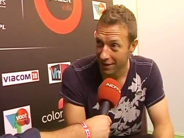 'India Has All The Colours Of Life': Backstage With Chris Martin