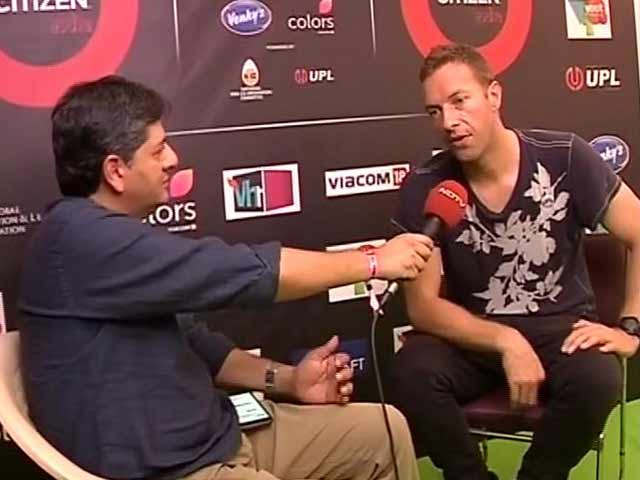 Watch Interview With Coldplay's Chris Martin