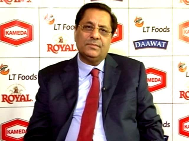 Video : Rice-Based Snacks To Generate Rs 50 Crore Revenue:  LT Foods JV