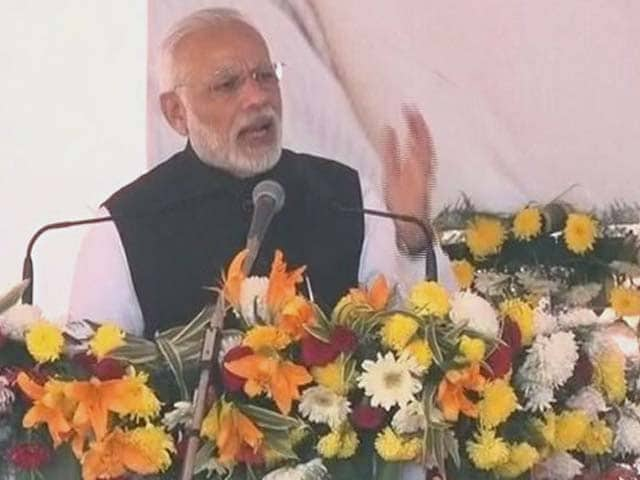 Video : PM Narendra Modi Pushes For Use Of Mobiles To Deal With Cash Crunch