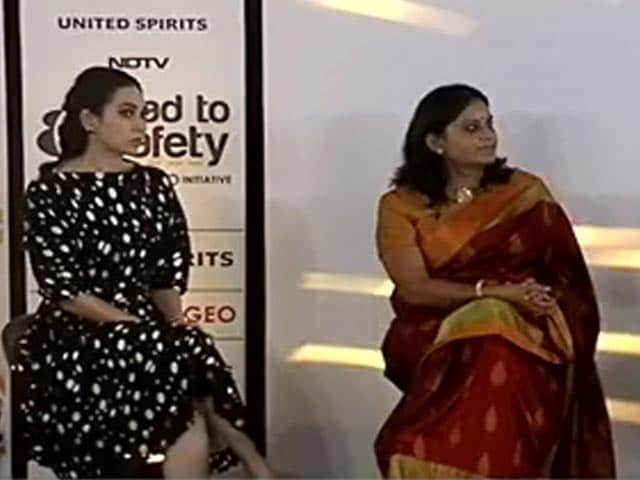 Video : Launch Of NDTV?United Spirits Road to Safety Campaign
