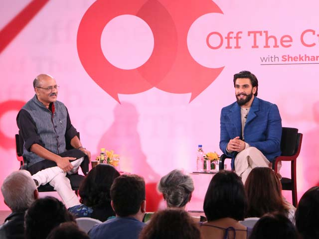 Ranveer Singh Has 'No Issues' Being 'Objectified'