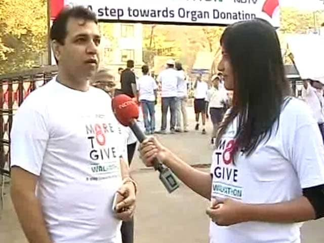 Video : Reliance's Harminder Mohan Bareja On Importance Of Organ Donation