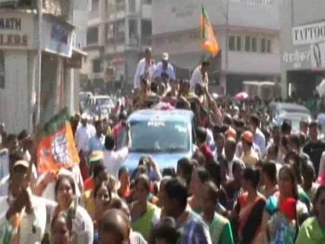 Video : BJP-Sena Way Ahead In Maharashtra 'Mini-Elections' Held After Notes Ban