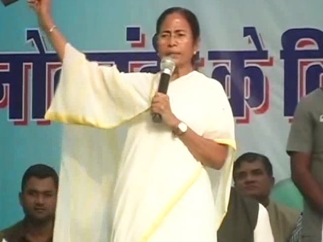 Video : Traitor, Says Mamata Banerjee Without Naming Nitish Kumar In Patna