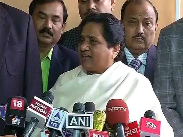 Modi is very wealthy, says Mayawati